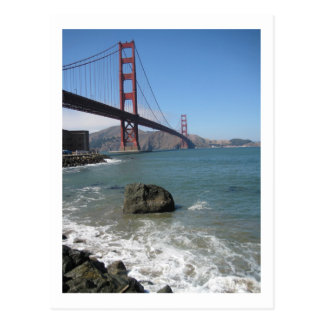 Golden Gate Bridge Post Card