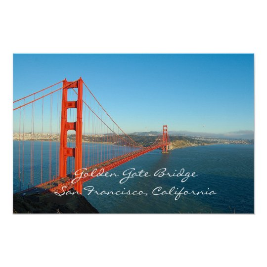 Golden Gate Bridge Poster