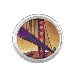 Golden gate bridge rings