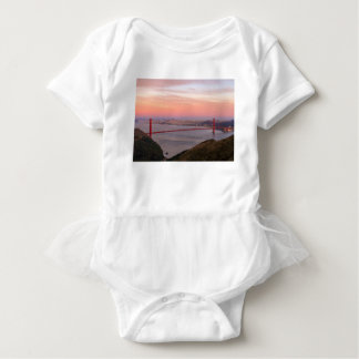 Golden Gate Bridge San Francisco at Sunrise Baby Bodysuit