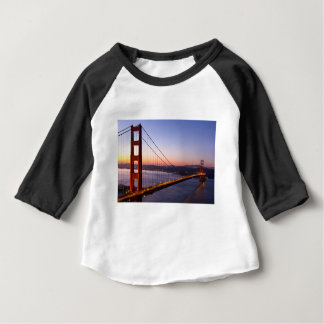 Golden Gate Bridge San Francisco at Sunrise Baby T-Shirt