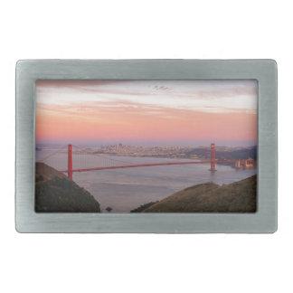 Golden Gate Bridge San Francisco at Sunrise Belt Buckle