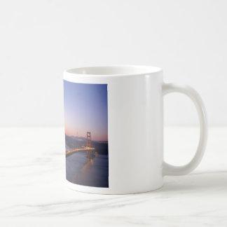 Golden Gate Bridge San Francisco at Sunrise Coffee Mug