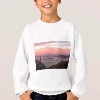 Golden Gate Bridge San Francisco at Sunrise Sweatshirt