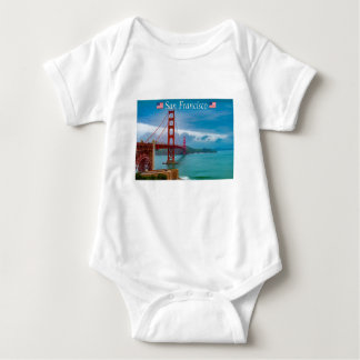 Golden Gate Bridge San Francisco Baby Bodysuit
