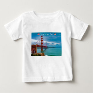 Golden Gate Bridge San Francisco Baby T-Shirt