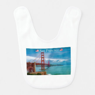 Golden Gate Bridge San Francisco Bib