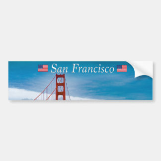 Golden Gate Bridge San Francisco Bumper Sticker