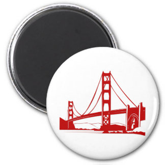 Golden Gate Bridge - San Francisco, CA Magnet
