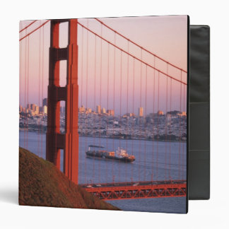 Golden Gate Bridge; San Francisco; California; 3 Ring Binder