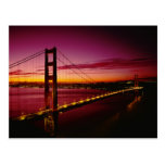 Golden Gate Bridge, San Francisco, California, 5 Postcards