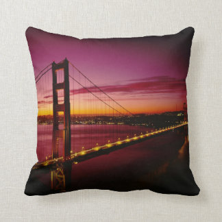 Golden Gate Bridge, San Francisco, California, 5 Throw Pillow