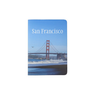 Golden Gate Bridge San Francisco California Passport Holder