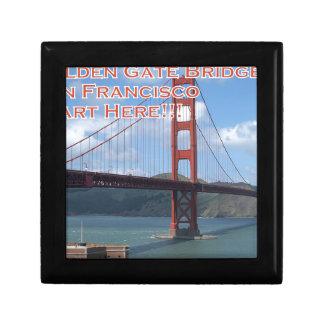 Golden Gate Bridge San Francisco California USA Gift Box