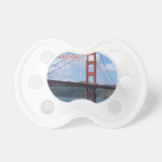 Golden Gate Bridge San Francisco California USA Pacifier
