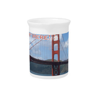Golden Gate Bridge San Francisco California USA Pitcher