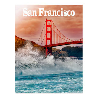 Golden Gate Bridge, San Francisco California USA Postcard