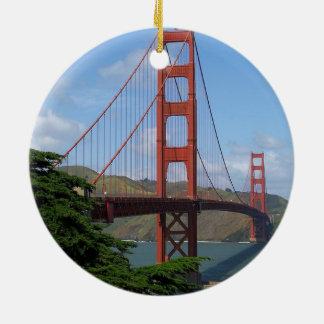 Golden Gate Bridge, San Francisco Ceramic Ornament