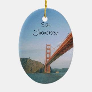 Golden Gate Bridge- San Francisco Ceramic Ornament