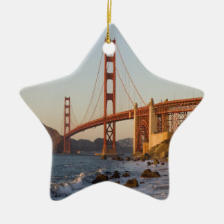 Golden Gate Bridge San Francisco Ceramic Ornament
