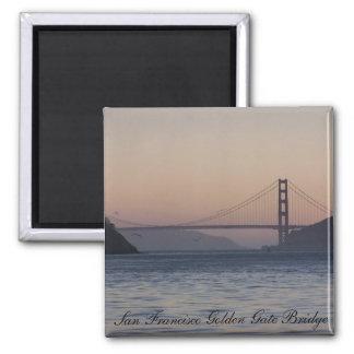 Golden Gate Bridge, San Francisco Golden Gate B... Square Magnet
