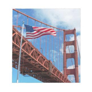 Golden Gate Bridge, San Francisco Notepads
