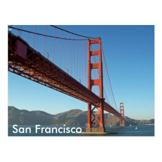 Golden Gate Bridge, San Francisco Postcard