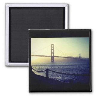 Golden Gate Bridge - San Francisco Square Magnet