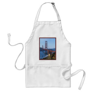 Golden Gate Bridge San Francisco Standard Apron