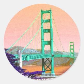 Golden Gate Bridge San Francisco Stickers
