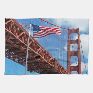 Golden Gate Bridge, San Francisco Towel