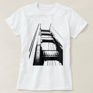 Golden Gate Bridge Tower(o) T-Shirt