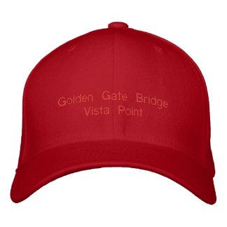 Golden Gate Bridge Vista Point Cap  eZaZZleMan.com