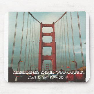 Golden Gate Bridge Walk Mousepads