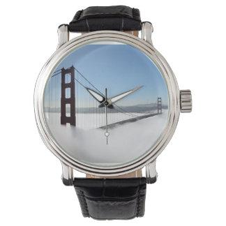 Golden gate bridge with fog, Golden Gate State Watches