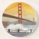 Golden Gate Bridge with Spraying Water Coaster