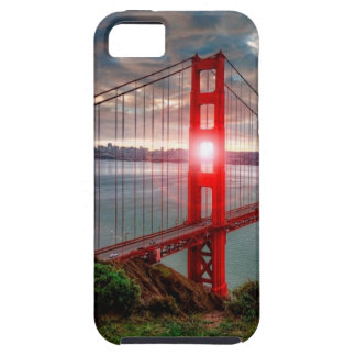 Golden Gate Bridge with Sun Shining through. Case For The iPhone 5