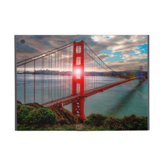 Golden Gate Bridge with Sun Shining through. iPad Mini Cover