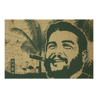 Golden Gate Che Guevara Poster