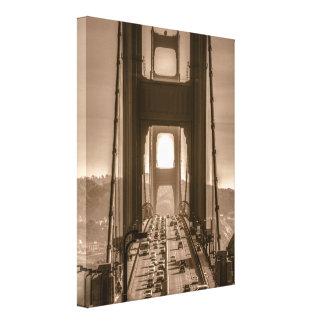 Golden Gate Due South Canvas Print