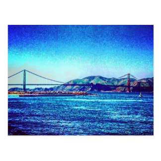 Golden Gate Edit Post Card