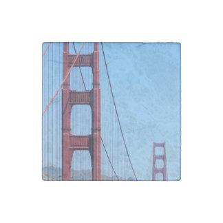Golden Gate Stone Magnet