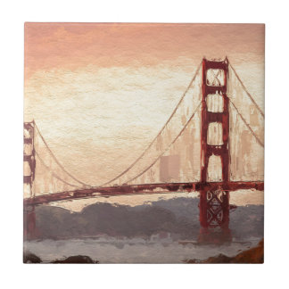 Golden Gate Inspiration Ceramic Tiles