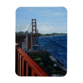 "Golden Gate Morning 3""x4"" Photo Magnet"