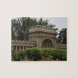 Golden Gate Park Music Concourse #2 Jigsaw Puzzle