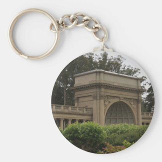 Golden Gate Park Music Concourse #2 Keychain
