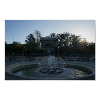 Golden Gate Park Music Concourse #3 Poster