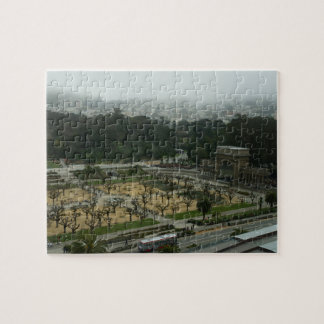 Golden Gate Park Music Concourse Jigsaw Puzzle