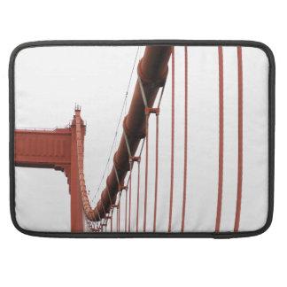 golden gate pillar MacBook pro sleeves