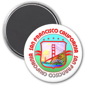 Golden Gate San Francisco Refrigerator Magnets